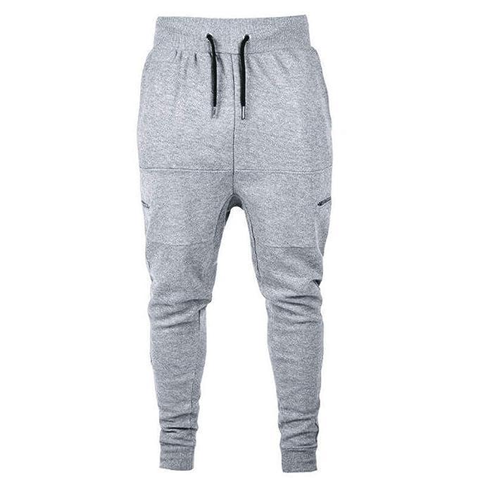 VonVonCo Hombre Pantalones Chandal Anchos Casual para Hombre OtoñoCotton  Patchwork Zipper Sports Run Gym Jogger Pantalones Pantalones  Amazon.es   Ropa y ... 09ea8691ca2