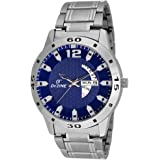 Dezine's Classic day and date analog watch-DZ-GR1181-BLU-CH