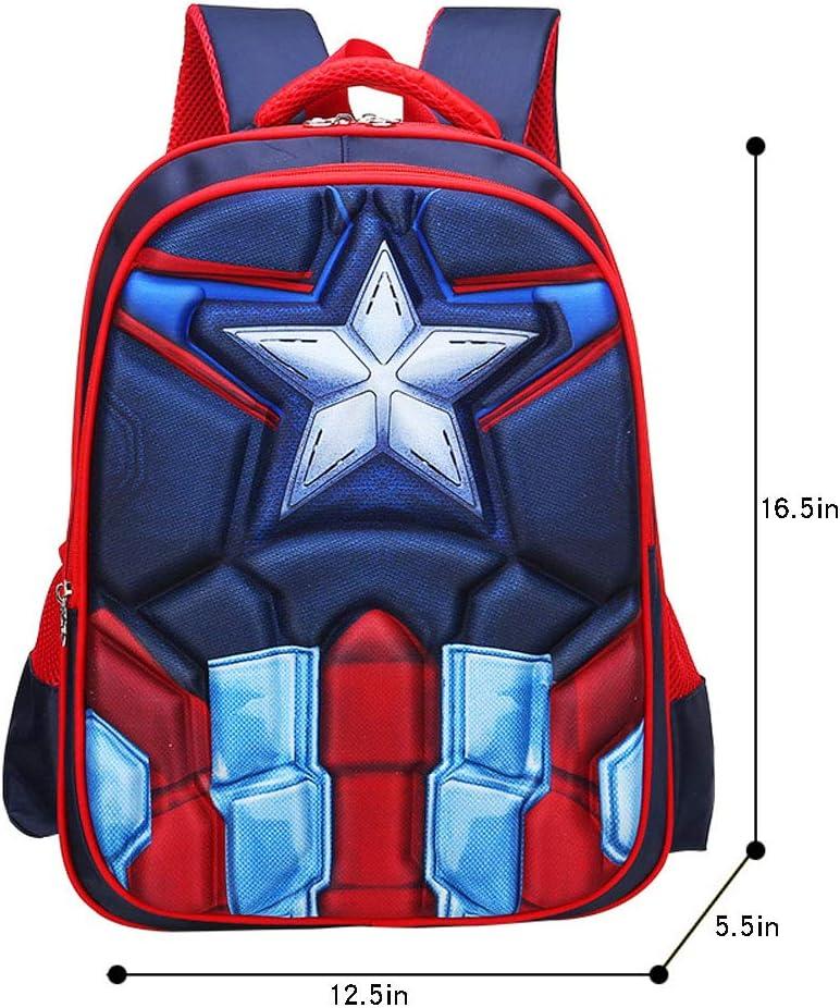 1-3 grade boy and girl ridge waterproof backpack SHUX SHUX Childrens school bag