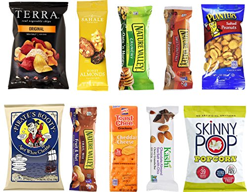 Healthy Snacks Care Package Sampler Box