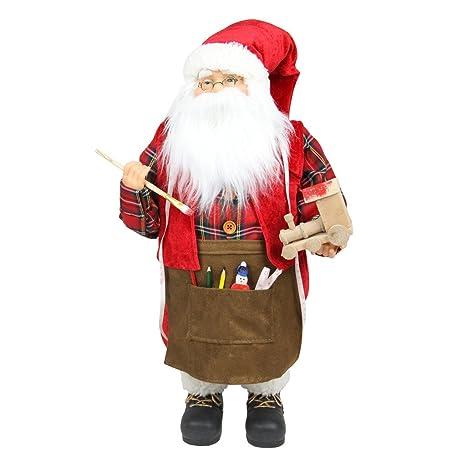 Amazon.com: northlight animados Santa Claus Pintura Un Tren ...
