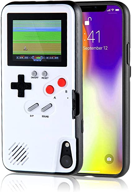 Amazon Com Aisall Gameboy Iphone Case Playable Gameboy Case For Iphone 36 Classic Games Full Color Display Handheld Game Console Gameboy Phone Case Retro Gaming Phone Case Protective Cover
