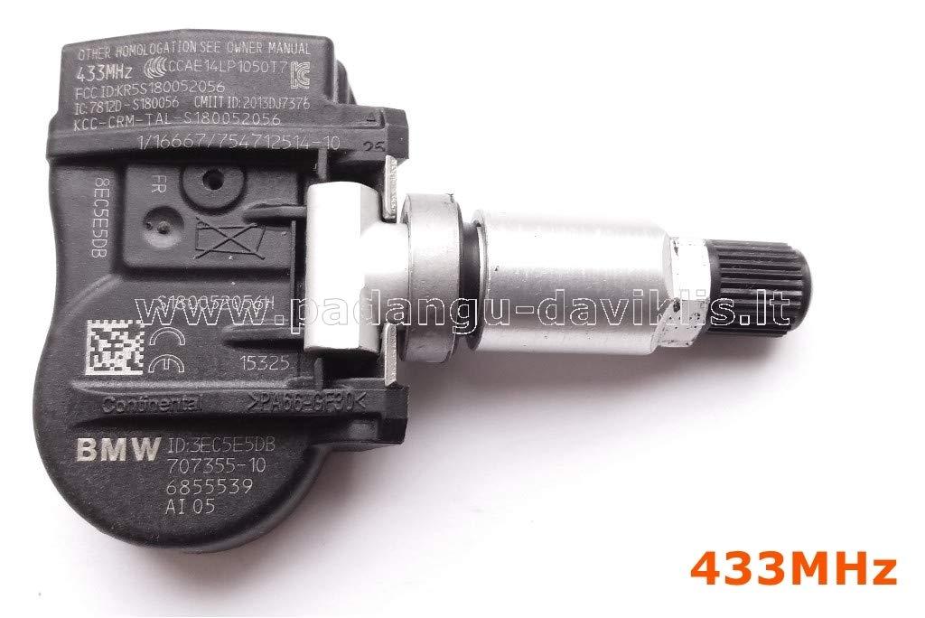 syst/ème de contr/ôle pression des pneus A2/C9743250080 VDO Capteur de roue