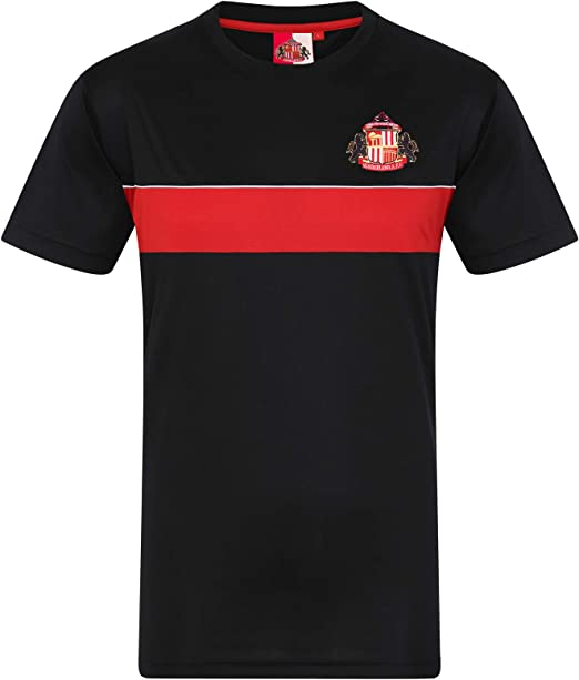 Sunderland AFC Official Football Gift Boys Poly Training Kit T-Shirt