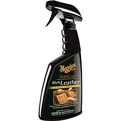 Meguiar's G10916 Gold Class Rich Leather Cleaner & Conditioner - 15.2 oz