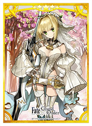 Fate Cards (Fate Grand Order Saber Nero Claudius Bride Anime Card Game Character Sleeve FGO)