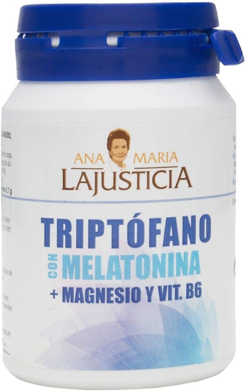Ana Maria Lajusticia TRIPTOFANO CON MELATONINA + MAGNESIO Y ...