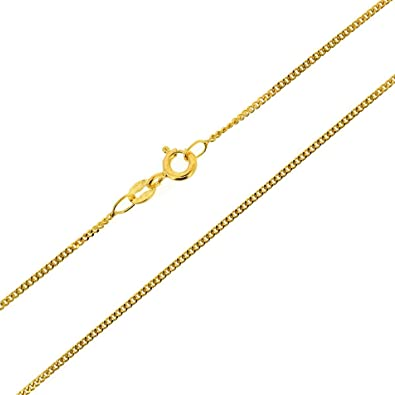9ct Yellow Gold 24 Inch Strong Curb Chain 10J32MbZo