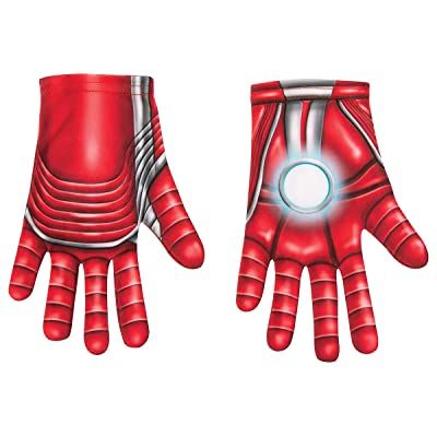 Rubie's Child's Marvel Avengers: Endgame Iron Man Costume Gloves, One Size: Toys & Games
