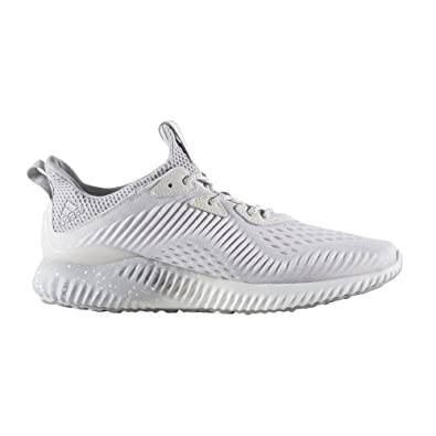 2ed6b374fa482 adidas Women s Alphabounce 1 Reigning Champ w Running Shoe Chalk White Grey
