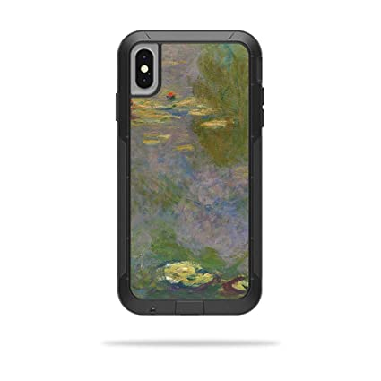 differently ef21a 02c24 MightySkins Skin for OtterBox Pursuit iPhone Xs Max Case - Water Lilies |  Protective, Durable, and Unique Vinyl Decal wrap Cover | Easy to Apply, ...