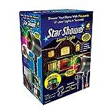 Star Shower As Seen on TV Static Laser Lights Star Projector