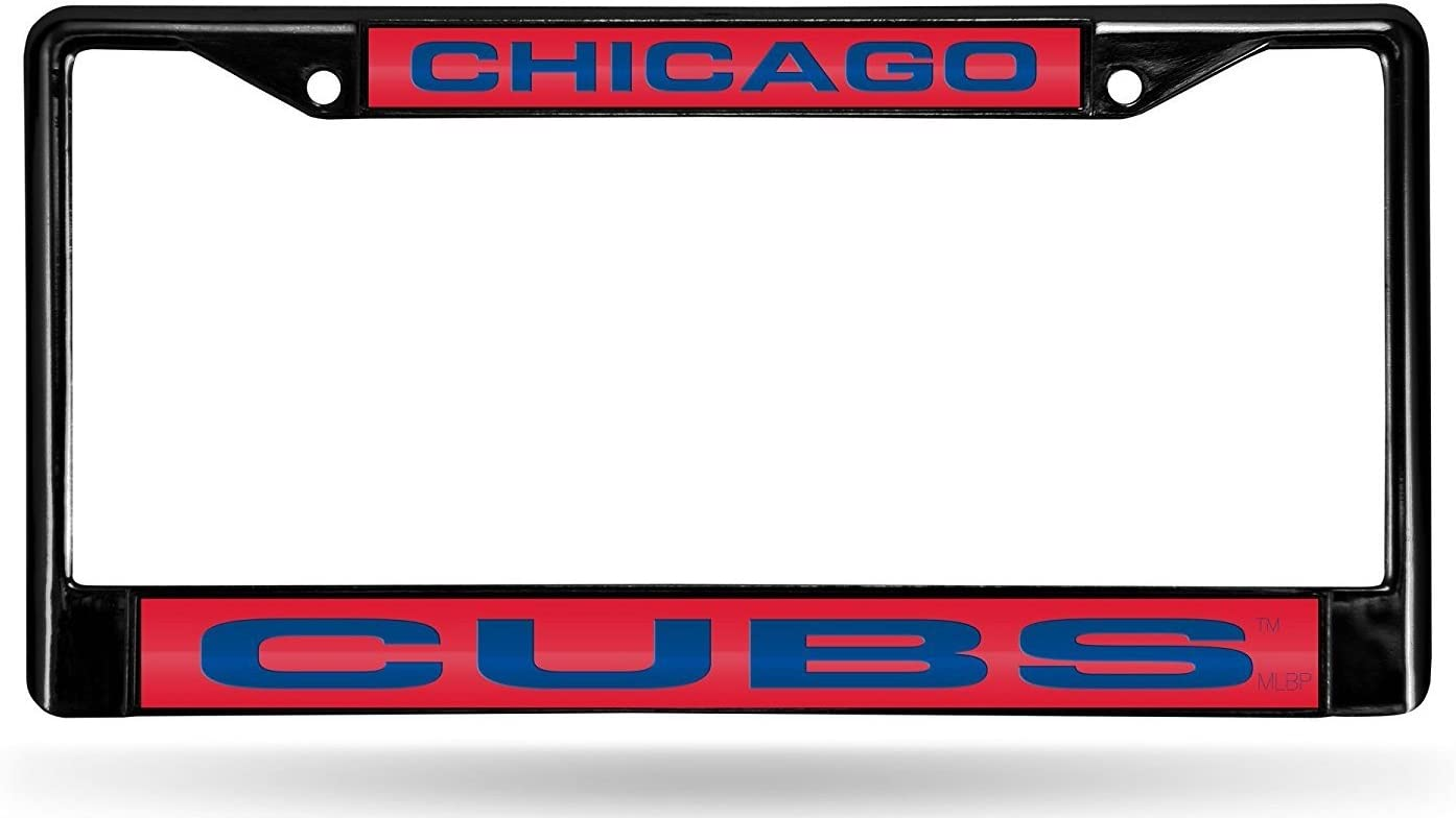Rico Industries Chicago Cubs Holy Cow Laser Frame