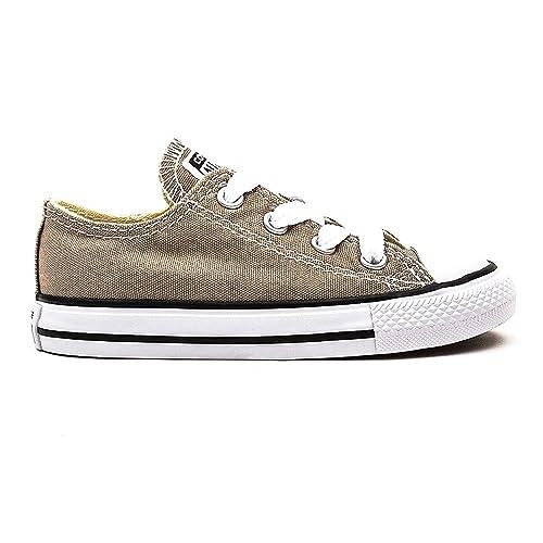 Converse CTAS Season Ox - Zapatillas para bebés, Color Beige (Beige/Taupe), Talla 22: Amazon.es: Zapatos y complementos