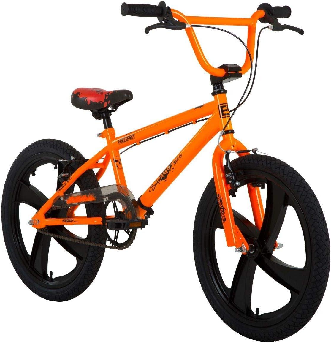 Freespirit Savage - Bicicleta BMX Retro de 20 Pulgadas, Color ...