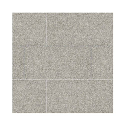 TEKTILE HOPSACK GRAY 12 in. X 24 in. 7 Pieces Per Box (Quarry Slate Porcelain Tile)