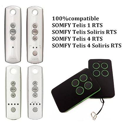 Somfy Telis 4 RTS | Somfy Telis 4 Soliris RTS Compatible ...