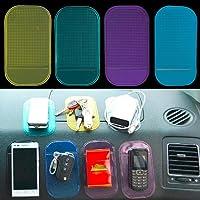 Boolavard 10 x Voiture Anti-dérapant Tapis antidérapant Magique Tableau de Bord Mobile Support de téléphone Mobile