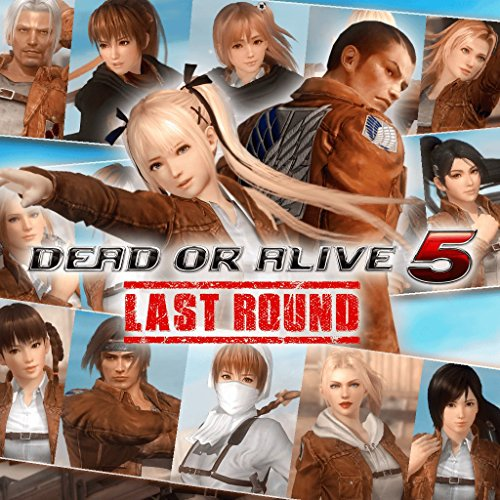 [Dead or Alive 5 Last Round: Attack On Titan Mashup - PS4 [Digital Code]] (Dead Or Alive 5 Helena Costumes)
