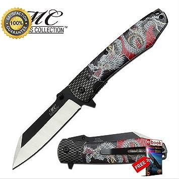 Amazon.com: Luna Knives - Cuchillo de combate EDC con ...