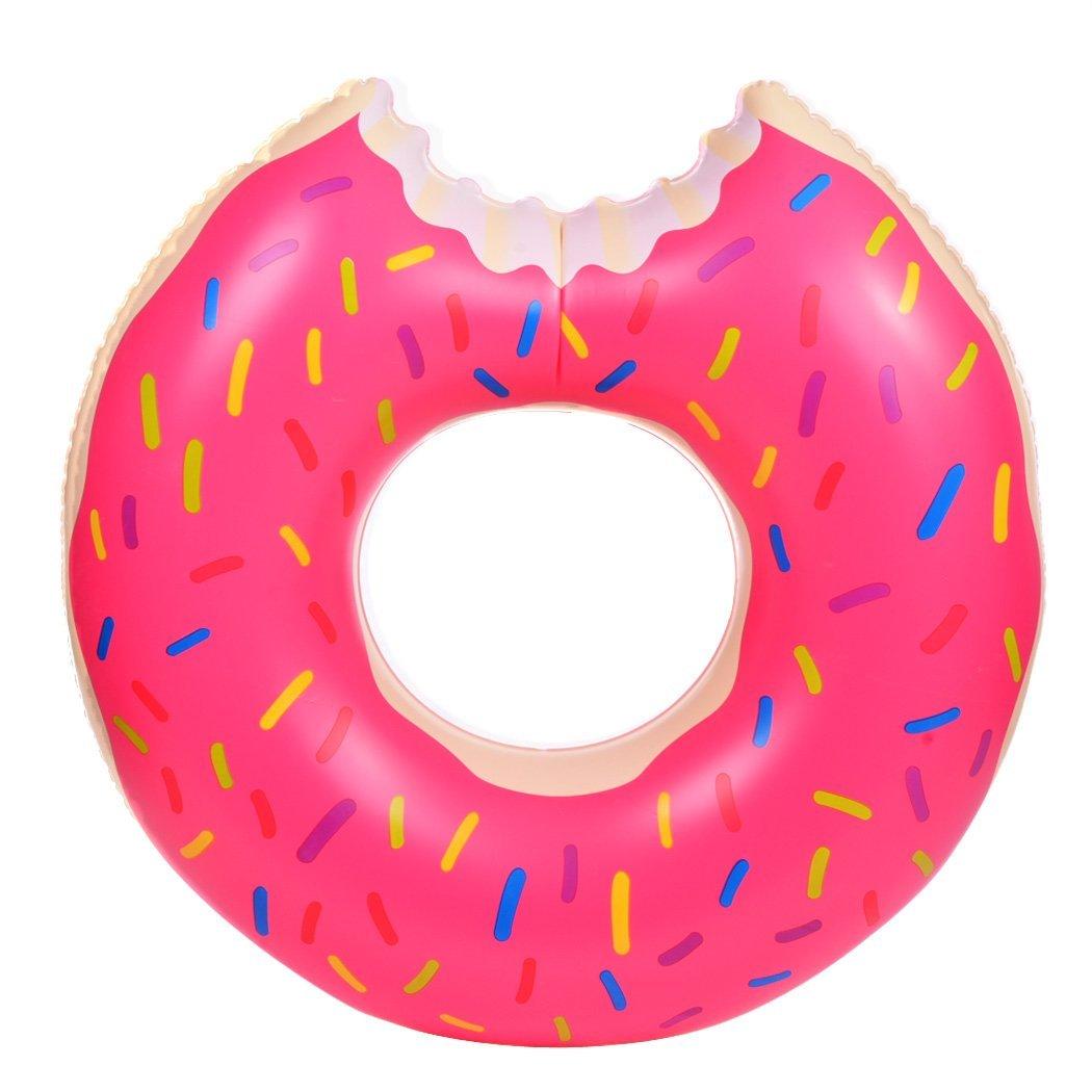 amazon com bleiou 120cm gigantic donut pool inflatable floats