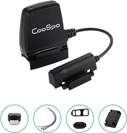 CooSpo - Sensor de Velocidad para Bicicleta (Bluetooth, IP67 ...