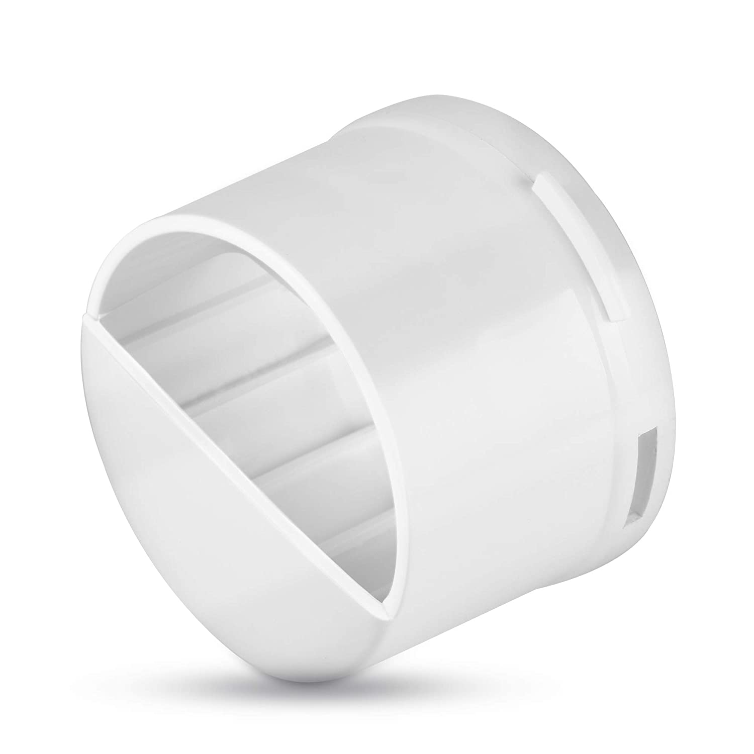 Coipur Whirlpool Water Filter Cap for Refrigerators Fits Most Whirlpool and Kenmore Side by Side Refrigerators 4396841,469020,W10121145 (White) 1 PC