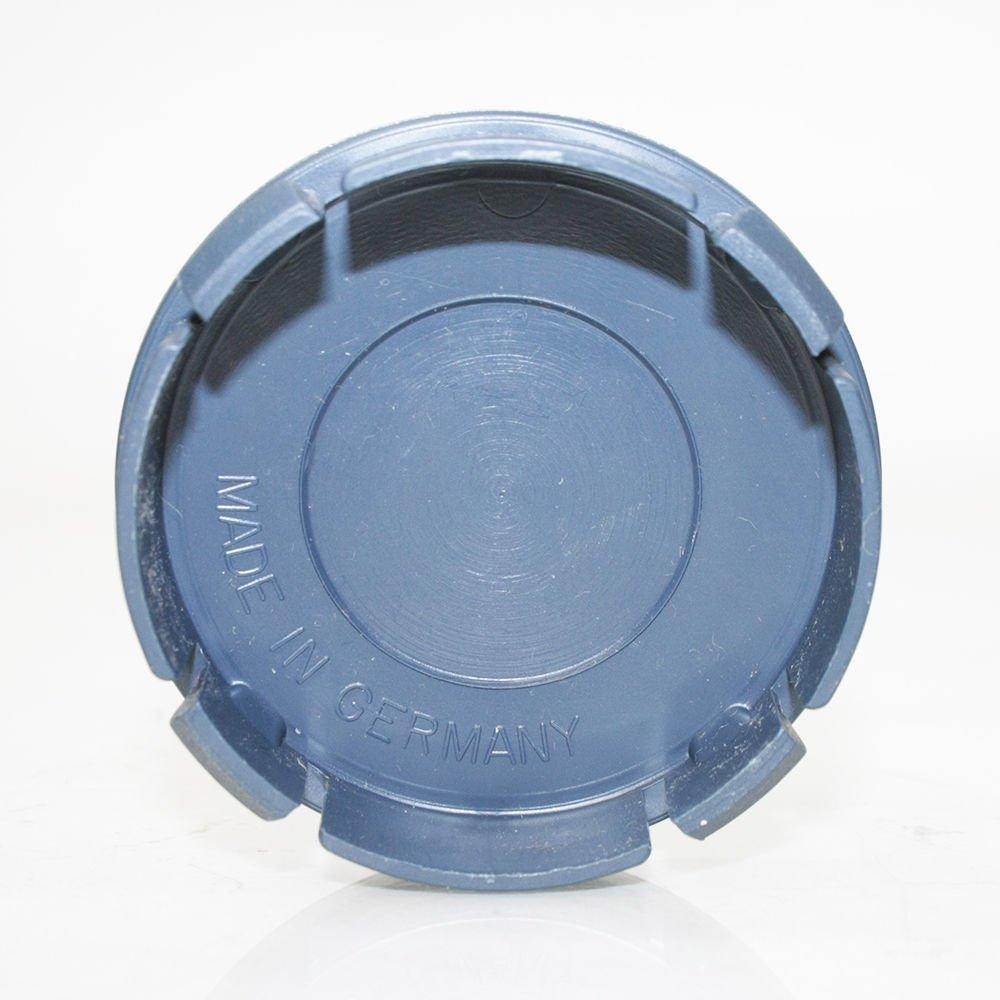 Set of 4 Plain Plastic Black Wheel Tire Center Hub Caps 60mm Cover Insert