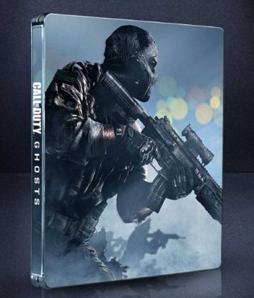 Amazon Com Call Of Duty Ghosts Steelbook Edition Playstation 3 Video Games