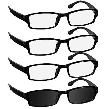 46e8fdb149f Reading Glasses 2.25 3 Black 1 Sun Black Fashion Readers for Men   Women -  Spring