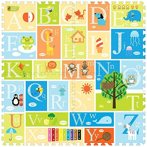 Creative Baby I-mat: My Alphabet (4 Pcs)