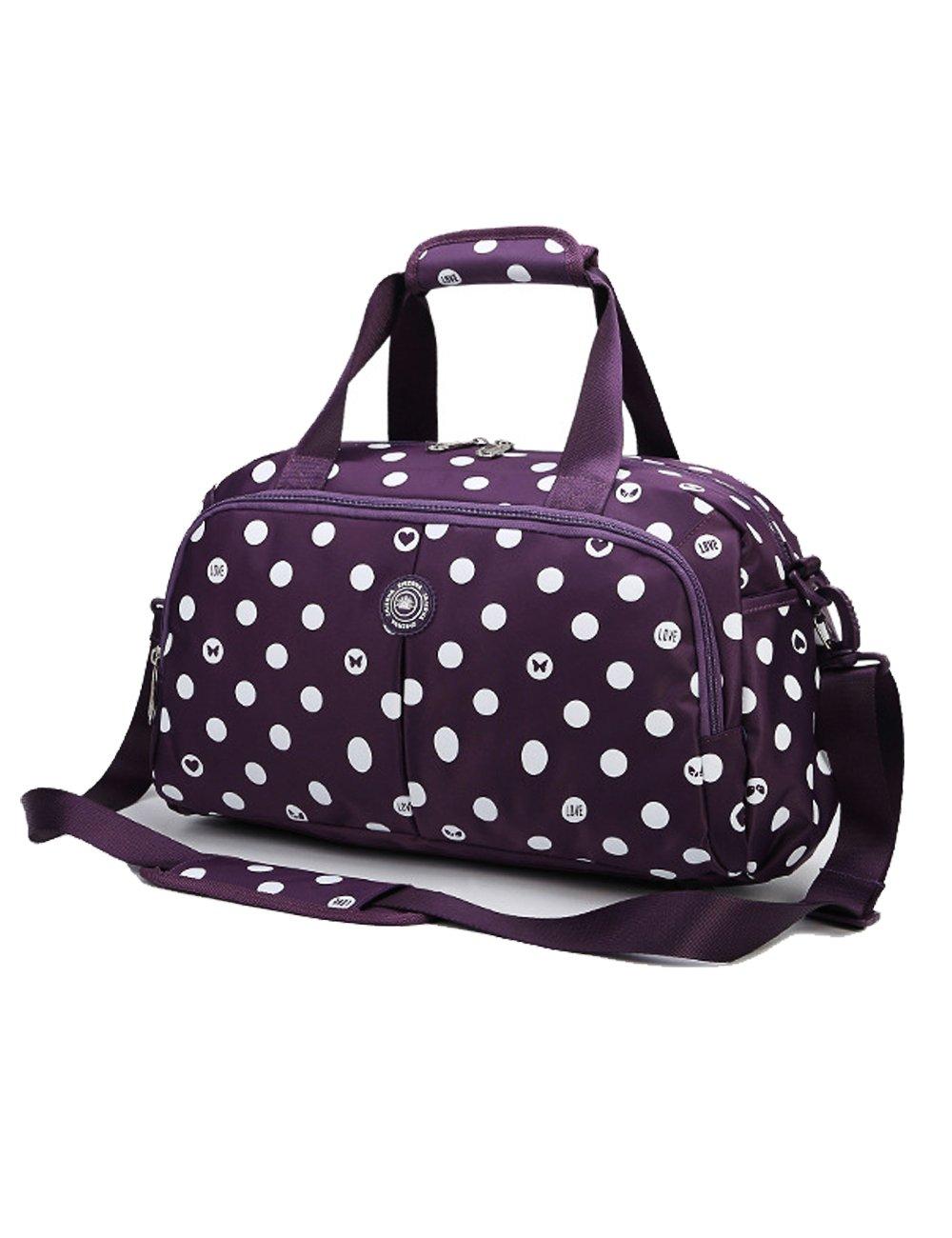 Amazon.com   Small Gym Duffle Bag for Women Girls (Small, Brown)   Sports  Duffels e63a9d48c5
