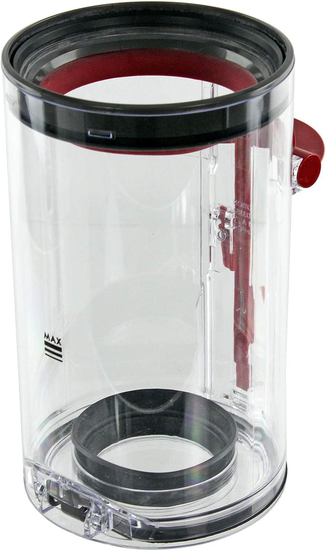Spares2go contenedor de Polvo Compatible con aspiradora Dyson V10 ...