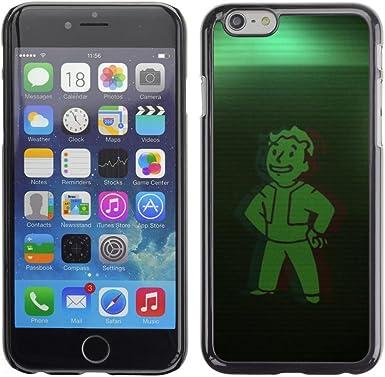 KIKI Tech/duro Smartphone funda - verde Vault Boy - iPhone 6: Amazon.es: Electrónica