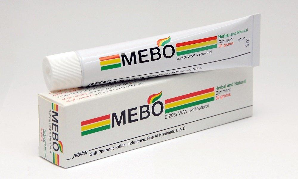 Original Mebo Burn Fast Pain Relief Healing Cream Leaves No Marks 30 Grams