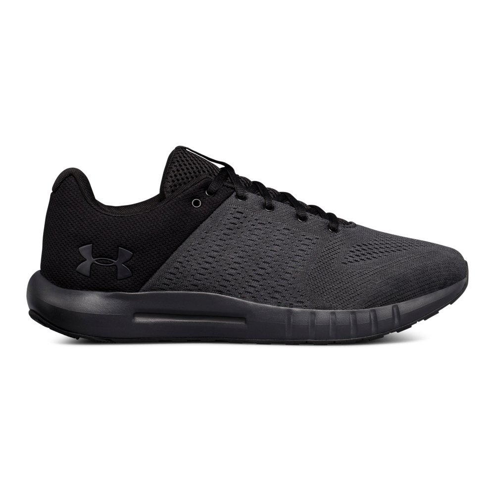 Under Armour Men's Micro G Pursuit-Wide, Anthracite (100)/Black, 11.5 by Under Armour
