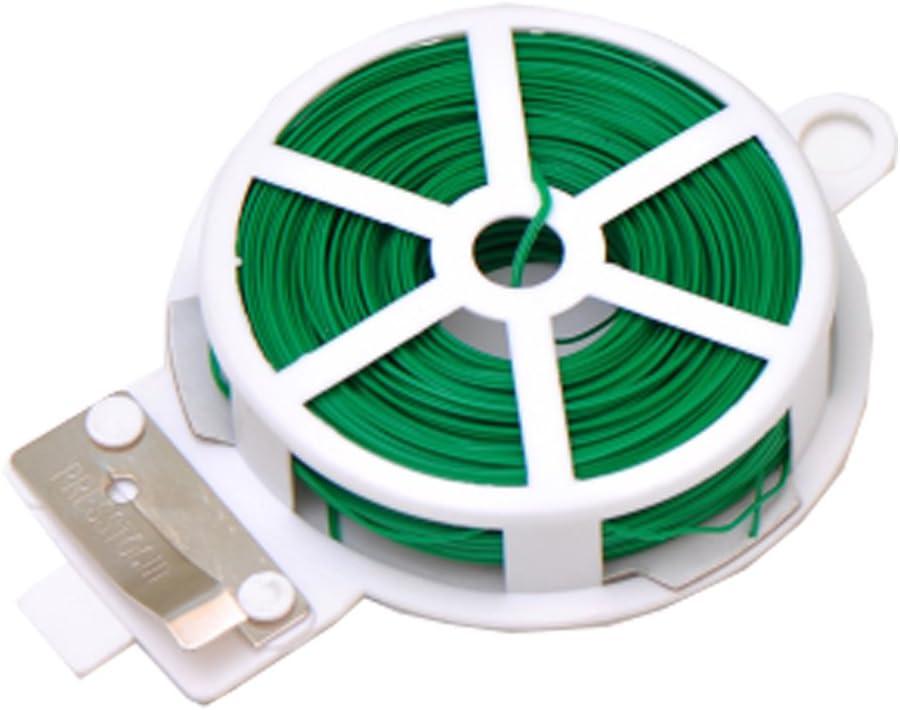 bricolage Bande d/'attache 1pcs Green Attaches Sac de cong/élation Sac alimentaire Lien de fixation en m/étal polyvalent de 50/m HLHome Pour cuisine