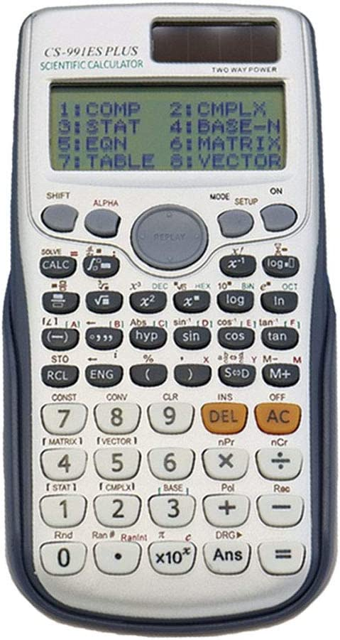 A//B Dual Power Scientific Calculator FX-991es Plus With 417 Multifunction Dual Power Calculadora Cientifica Student Exam Calculator