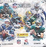 #10: 2018 Panini NFL Football Stickers MASSIVE 50 Pack Factory Sealed Box with 250 STICKERS! Look for Stickers of Top NFL Stickers Including Tom Brady, Dak Prescott, Todd Gurley, Aaron Rodgers & Many More!
