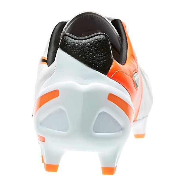 417a7dfd894 Amazon.com  PUMA King II EF+ FG Cleats (White Black Fluo Flash Orange)   Shoes