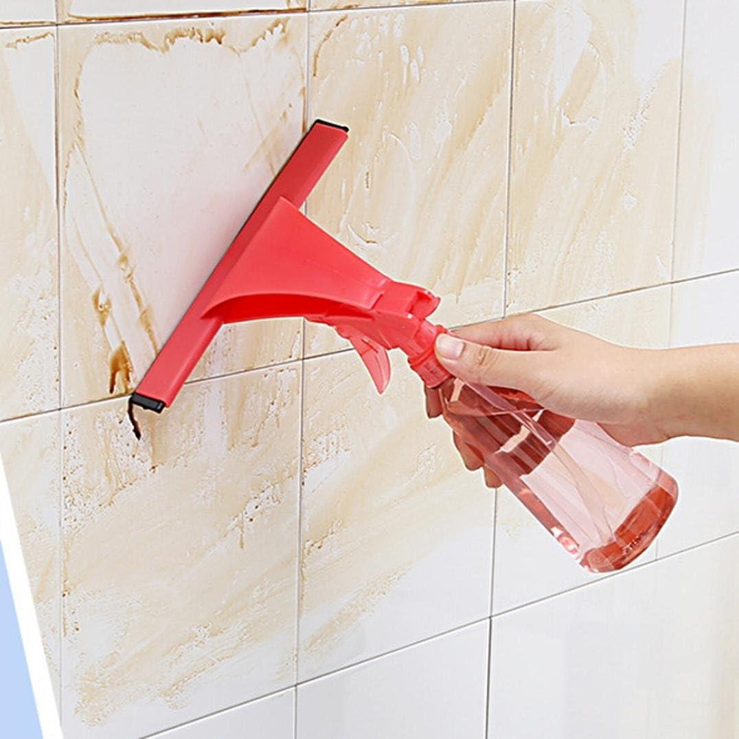longay cristal ventana limpiaparabrisas limpiador de jabón rasqueta de ducha baño espejo coche hoja: Amazon.es: Hogar