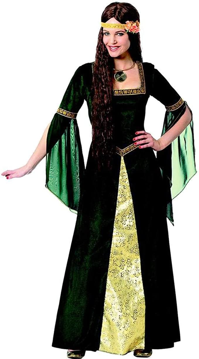 Franco Renaissance Lady Costume M (8-10): Amazon.es: Ropa y accesorios