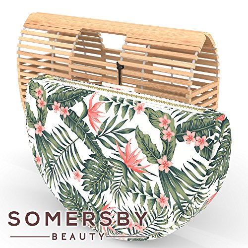 Bamboo Handbag - Womens Basket Bag with Purse Insert - Handmade Summer Tote by Somersby Beauty (Image #2)