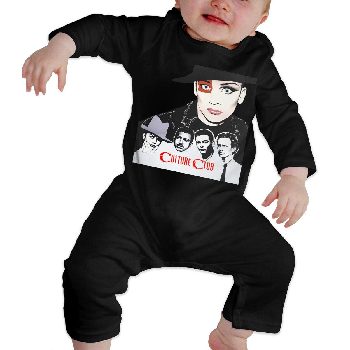 LarryGThatcher Baby Culture Club Long Sleeve Low Sensitivity Baby Romper 2T