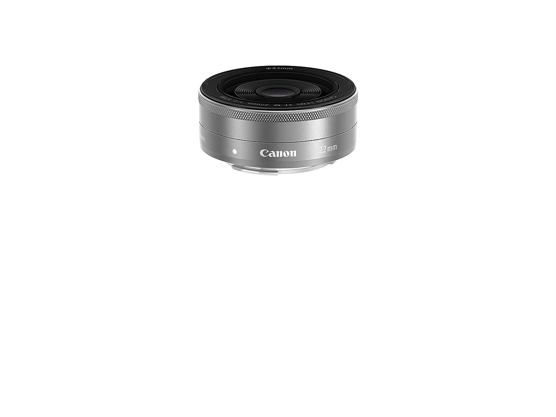 Canon EOS Mシリーズ EF-M 22mm f/2 STM広角レンズ (認定リファービッシュ品)   B07HPD7H66