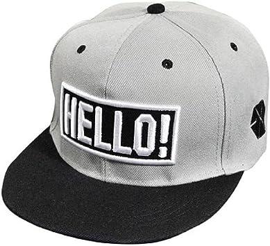 Xinantime Sombrero, Sombrero Hip Hop Adolescentes Gorra de ...