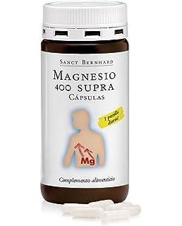 Magnesio 400mg SUPRA - 120 Cápsulas