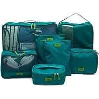 奈菲乐NAPHELE 旅行收纳袋七件套 防水行李分装整理包 收纳包 TB25 …