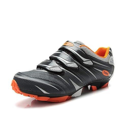 Tiebao - Zapatillas de Ciclismo de Sintético para Mujer: Amazon.es: Zapatos y complementos