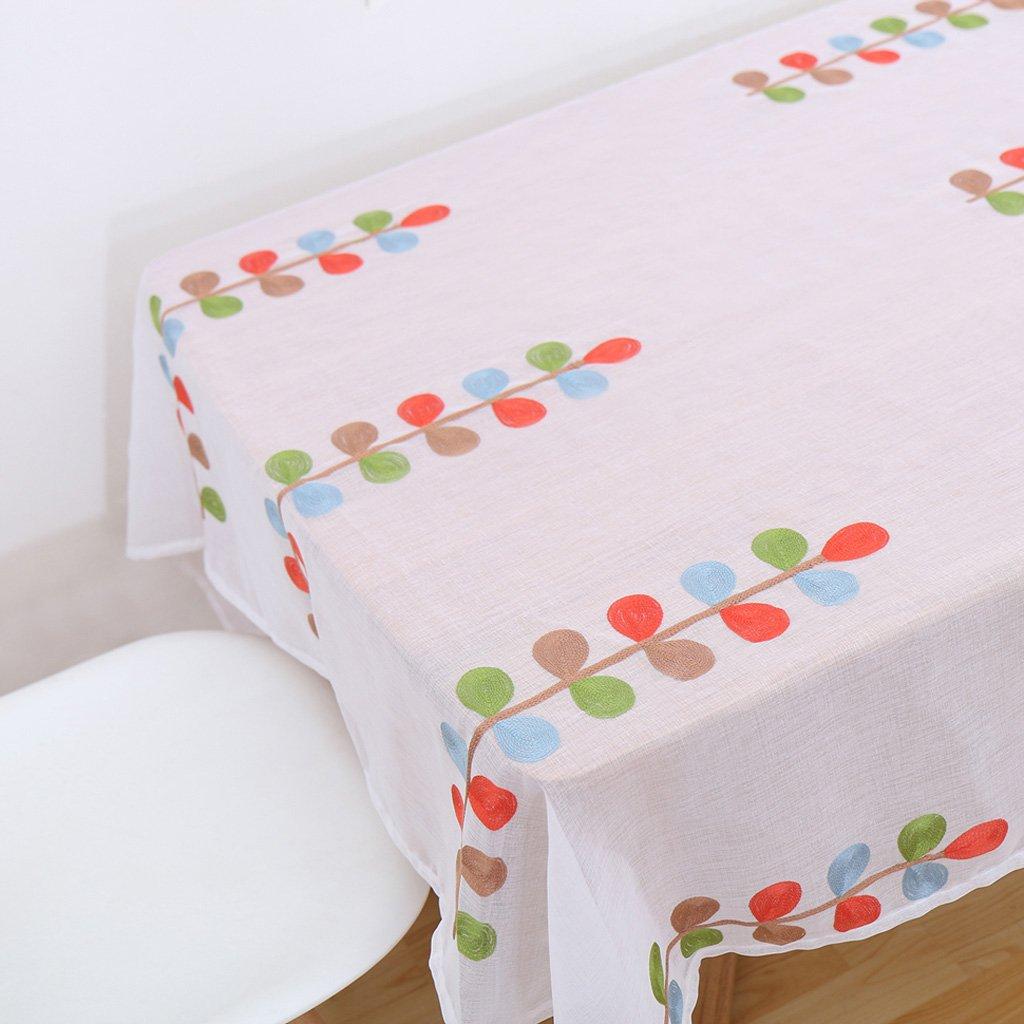 LINGZHIGAN Tovaglia Panno Tessuto rettangolare semplice Tavolo da cerimonia nuziale Tavolo da cerimonia nuziale (Questo prodotto solo vende Tovaglie) ( dimensioni   220220cm )